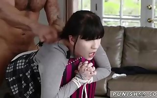 Insatiable dark-haired luvs harsh fuck-a-thon games more than anything else, because it exhilarates her a bunch